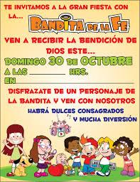 Tarjetas De Invitacion Para Ninos Cristianos Imagui