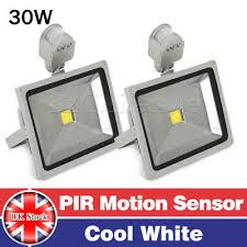 2x 30w led flood light cool white