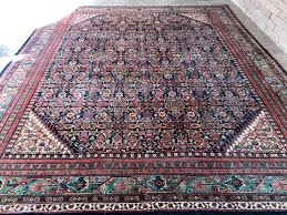 persian rug hand knotted wool area rug