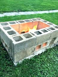 build a fire pit with retaining wall