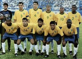 BRASIL, Campeão Juventude da América, Equador 2001. Na foto ...