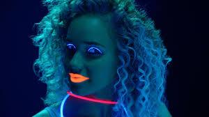 glow in the dark makeup tutorial how