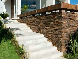 Minimalist Natural Stone Fence Pictures 2020 Ideas