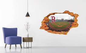 Boston Red Sox Stadium Wall Decal Egraphicstore