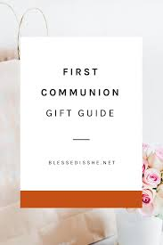 first munion gift guide for boys and