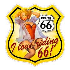 Route 66 Decal Nostalgia Decals Retro Vinyl Stickers Nostalgia Decals Online