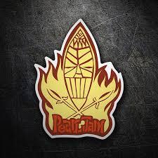 Sticker Pearl Jam Surf Muraldecal Com