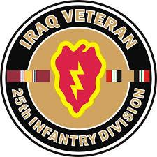 25th Infantry Division Army Decal Sticker Tropic Lightning Car Truck Window Wall Myfriendsdentist Com