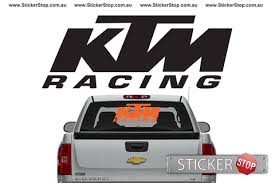 Ktm Racing Sticker Ktm Racing Stickers Custom Car Decals
