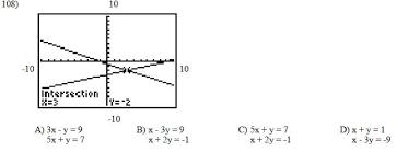 how do you write a system of equations