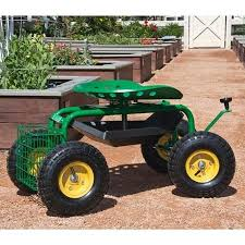 garden cart lawn garden planting flowers