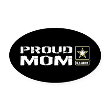 U S Army Proud Mom Black Oval Car Magnet By 13 Tactical Cafepress Army Chaplain Black Stickers Army