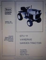 gtv 11 var lawn garden tractor