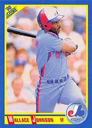 Amazon.com: Baseball MLB 1990 Score #479 Wallace Johnson Expos:  Collectibles & Fine Art