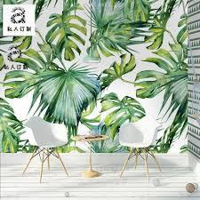 indoor jungalow leaf wallpaper