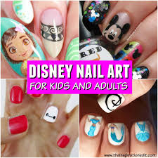 15 Fun and Fantastic Disney Inspired Nail Art Ideas · The ...