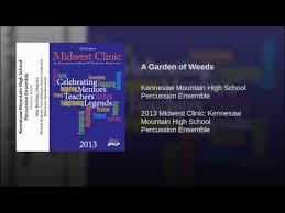 a garden of weeds you