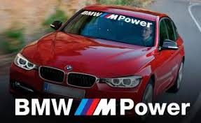 Product Bmw M Power Outline Windshield Banner Window Decal Sticker For M3 4 5 6 E46 E36