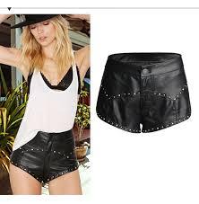 summer fashion faux leather plus size