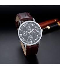 watch men watch leather strap mens watches