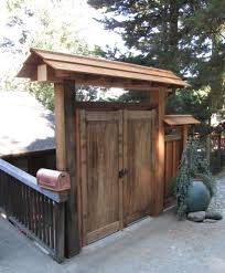 Asian Style Entry Gate And Fence Oakland Ca Asian Landscape San Francisco By Wolfe Inc
