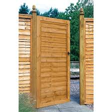 Forest 3 X 6 Wooden Lap Side Garden Gate 0 91m X 1 83m Buy Fencing Direct