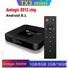 TX3 Mini Amlogic S912/S905W Android 8.1 Smart TV BOX 2GB 16GB WIFI 2.4G  Caja De Tv Android H96 X96 Air Tv Receiver Android Tv Box Review From  Flyshark, $5.71