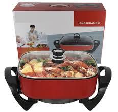 Shop bán Bếp lẩu nướng điện đa năng 1600W BHTLBIS Y1289 Chiên - Rán - Nướng  - Lẩu giá chỉ 339.000₫