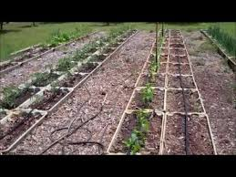 drip irrigation system for raised beds