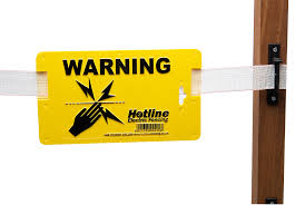 Electric Fence Warning Sign Electric Fencing Accessories Electric Fence Online