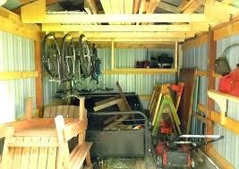 storage shed organization ideas