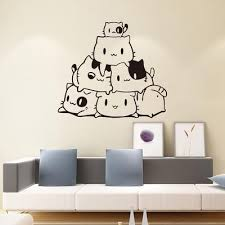 Diy Removable Cat Wall Stickers Home Decorative Decal Kids Nursery Baby Room Buy At A Low Prices On Joom E Commerce Platform