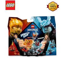 Mô Hình Lắp Ráp LEGO Lốc Xoáy Thần Tốc - Kai Đối Đầu Samurai 70684 ...