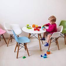 2xhome Toddler Kids Size Black Modern Plastic Chair With Wood Leg Armchair Walmart Com Kids Dining Kids Chairs Modern Kids Chairs
