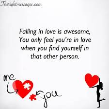 falling in love quotes sayings the right messages