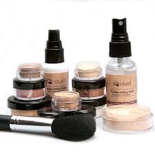 iq natural mineral makeup set 12
