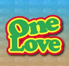 One Love Rastafari Rasta Bob Marley 4 Custom Vinyl Decal Sticker Vehicle Parts Accessories Car Tuning Styling