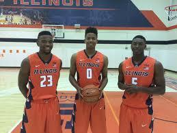 "Illinois Basketball on Twitter: ""#Illini newcomers: freshmen Aaron Jordan,  D.J. Williams, Jalen Coleman-Lands & transfers Mike Thorne, Khalid Lewis.  http://t.co/1aua8UKhGZ"""