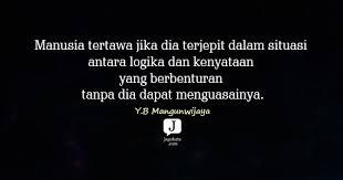 kata kata y b mangunwijaya jagokata