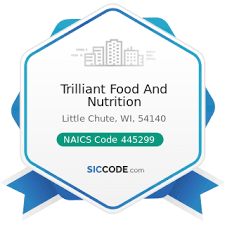 trilliant food and nutrition zip