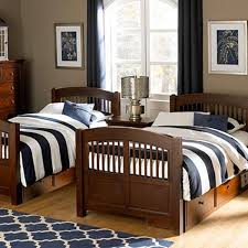 hayden blue white stripe bunkbed