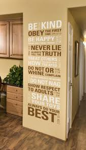 Scripture House Rules Wall Decal By Wisedecor Com Scripture Wall Decal House Rules Scriptures Wall