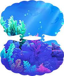 Cumpleanos De La Sirenita Invitaciones Con Forma De Concha Para