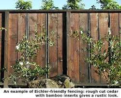 Example Of Rustic Fence Rustic Fence Garden Structures Fence