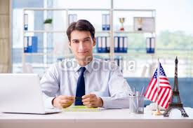 s agent working in travel agency