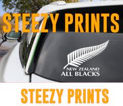 New Zealand All Blacks Kiwi Windshield Laptop Decal Sticker Ebay
