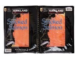 kirkland smoked salmon nutrition facts