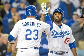 Adrian Gonzalez hits three home runs in Dodgers' win over San ...