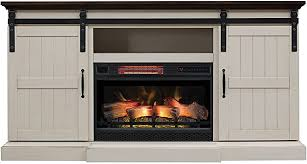 hogan electric fireplace tv stand