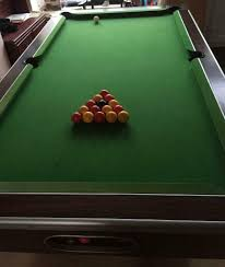 pool table pub style 6x3 sold in